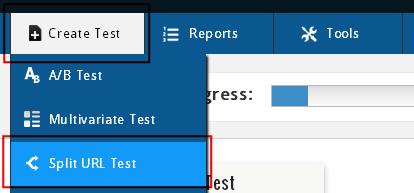 Создание теста в VWO