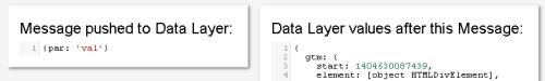 dataLayer до и после выполнения события