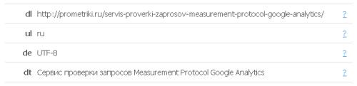 Пример разбора на параметры