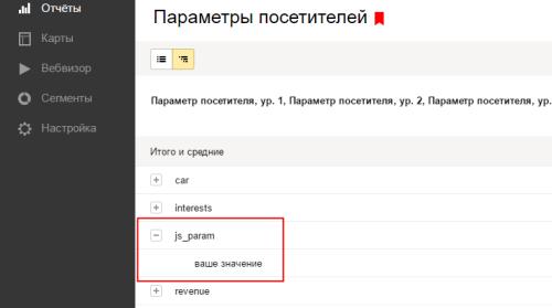 Передача параметра из JavaScript переменной