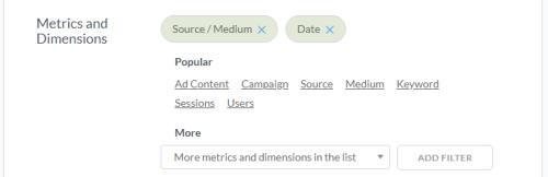 Выбор метрик и показателей